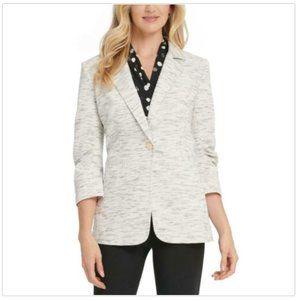 NEW DKNY Womens Peach Perfect Business Blazer Sz 8